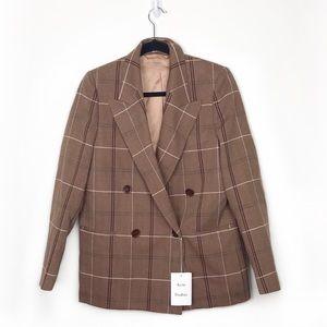 Acne Studios Double Breasted Herringbone Jacket